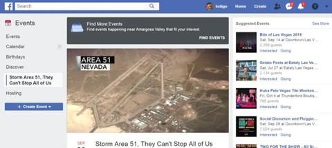 Storm Area 51 trending online | Haystack TV
